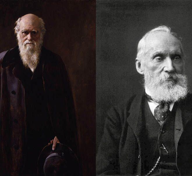 DARWIN CONTRE KELVIN, LE CHOC DES TITANS DE LA SCIENCE.
